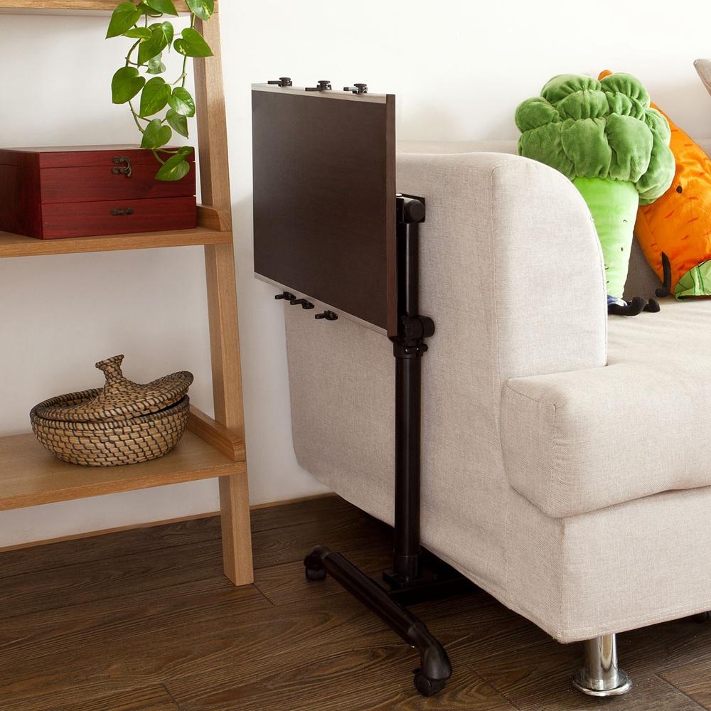 sobuy table de lit avec plateau inclinable pc hauteur. Black Bedroom Furniture Sets. Home Design Ideas