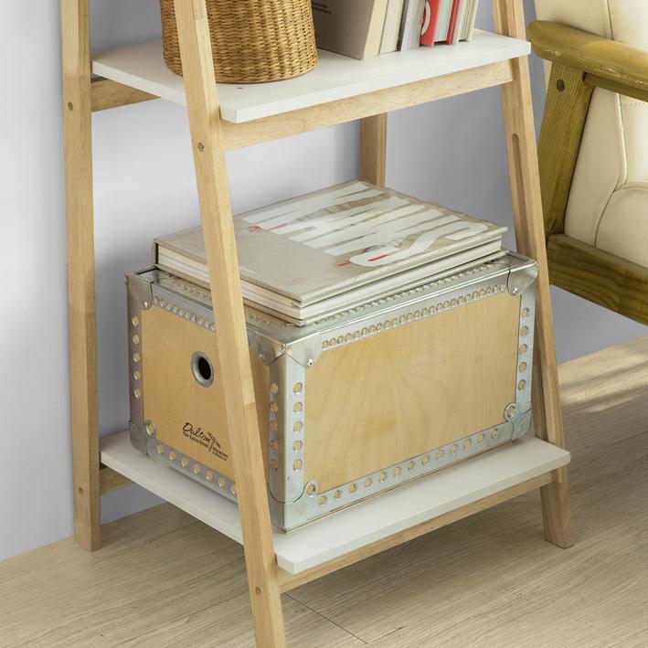 sobuy biblioth que tag re pliable style chelle avec 4 niveaux frg162 n fr ebay. Black Bedroom Furniture Sets. Home Design Ideas