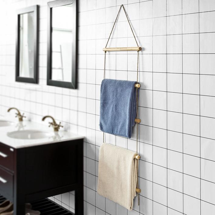 Sobuy scala appendiabiti porta asciugamani autoportante - Appendiabiti per bagno ...