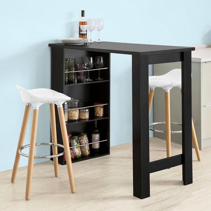 sobuy bartisch beistelltisch stehtisch k chentheke k chenbartisch fwt17 sch ebay. Black Bedroom Furniture Sets. Home Design Ideas