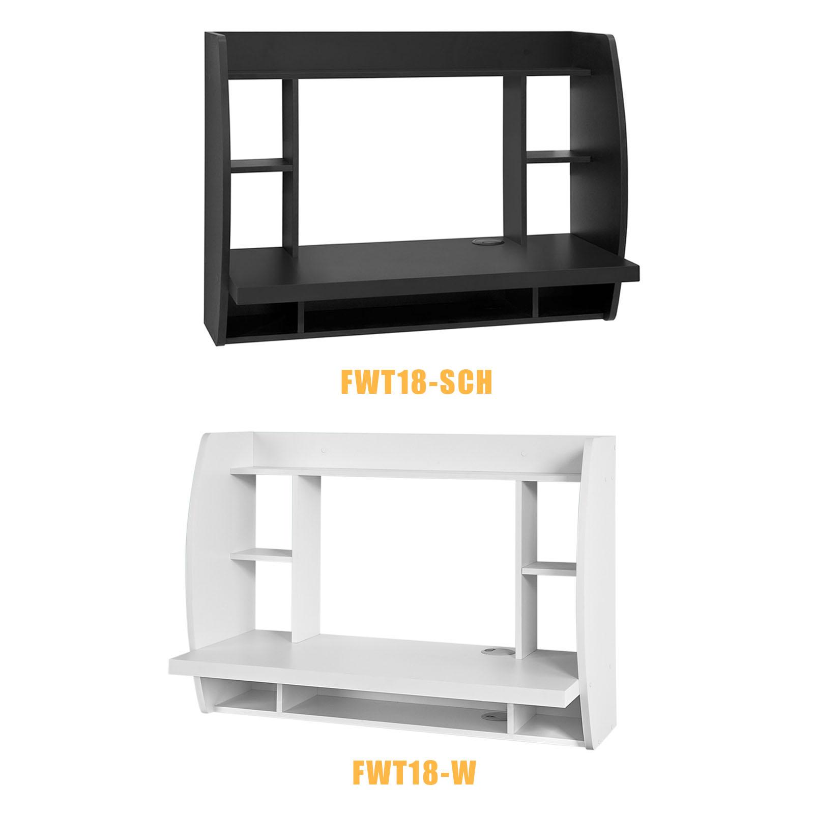 sobuy wandtisch schreibtisch computertisch. Black Bedroom Furniture Sets. Home Design Ideas